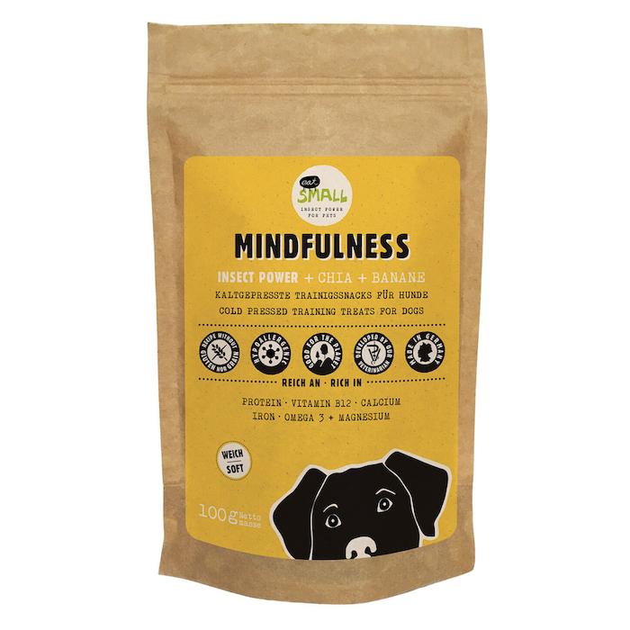 Gesunde Snacks fuer Hunde Mindfulness eat small