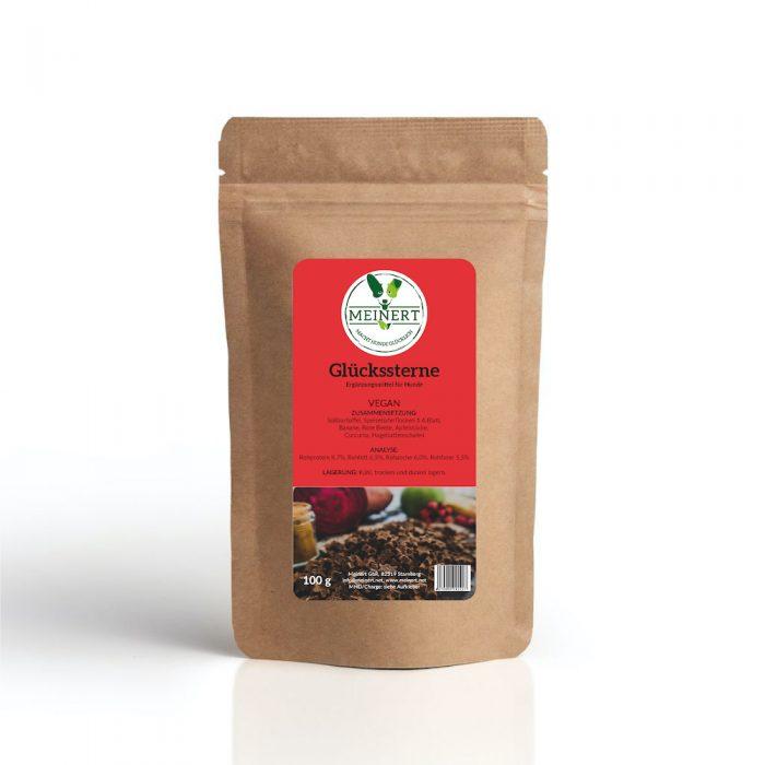 Leckerli nachhaltig vegan Glueckssterne 100g