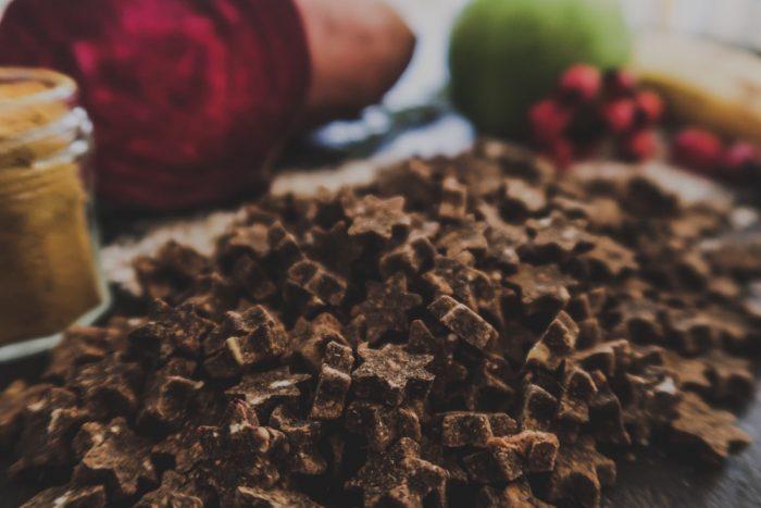 Leckerli vegan nachhaltig Glueckssterne