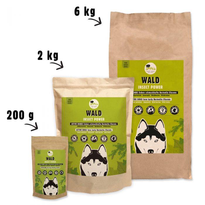 Trockenfutter nachhaltig aktiv Hund eat small