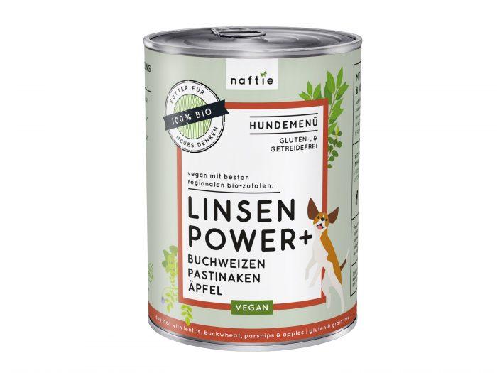 Nassfutter vegan Linsen Bio naftie 400 gr