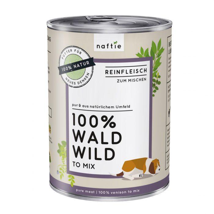 Naftie Dose 400g Wald Wild Nassfutter