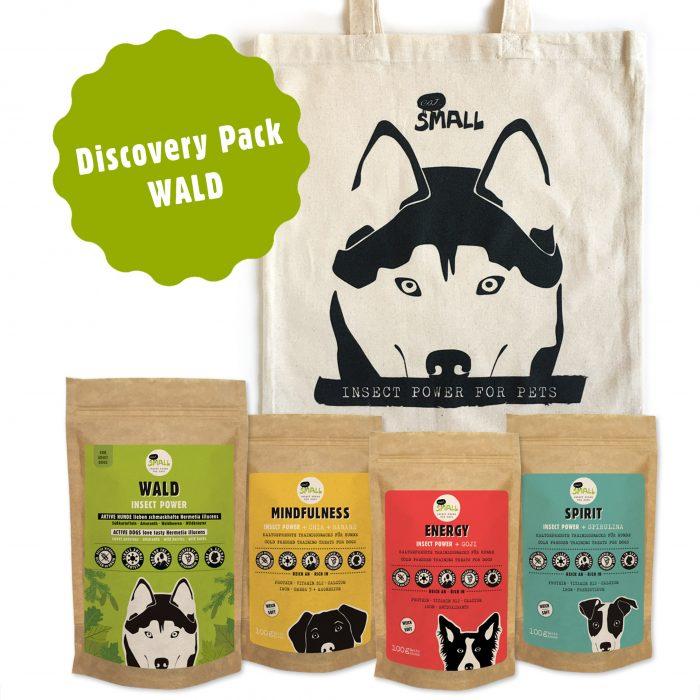 Hundefutter Insekten Angebot Sparpack nachhaltig Wald eat small