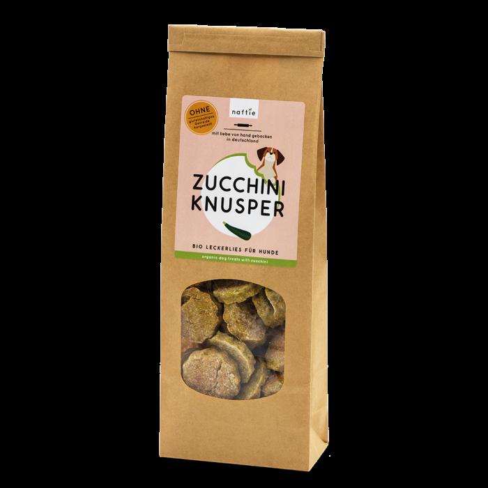 Leckerli Zucchini nachhaltig vegan Bio naftie