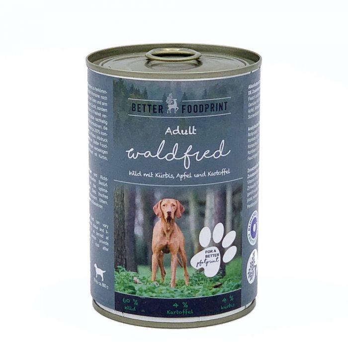 Hunde Nassfutter Wild nachhaltig gesund Better Foodprint